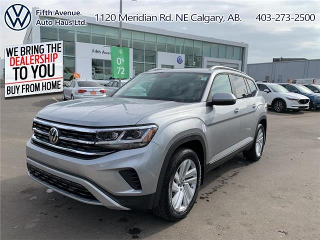 2021 Volkswagen Atlas 3.6 FSI Highline (Stk: 21033) in Calgary - Image 1 of 30