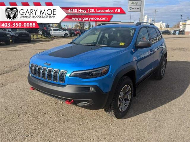 2021 Jeep Cherokee Trailhawk (Stk: F212530) in Lacombe - Image 1 of 19