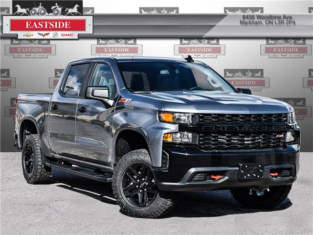 2021 Chevrolet Silverado 1500 Silverado Custom Trail Boss (Stk: MZ101096) in Markham - Image 1 of 21