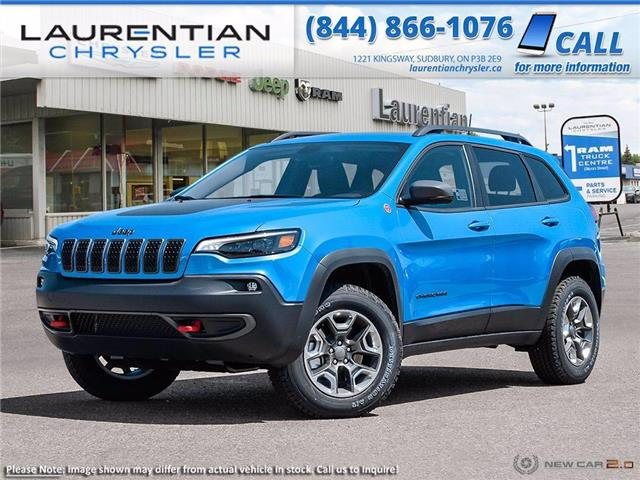 2021 Jeep Cherokee Trailhawk (Stk: 21003) in Sudbury - Image 1 of 23