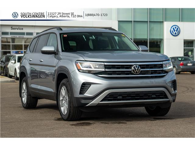 2021 Volkswagen Atlas 2.0 TSI Trendline (Stk: 10052) in Calgary - Image 1 of 40