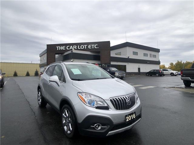 2016 Buick Encore Leather (Stk: 20480) in Sudbury - Image 1 of 25