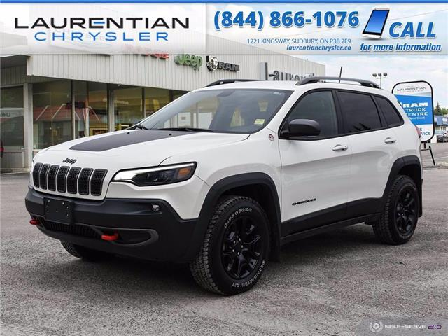 2019 Jeep Cherokee Trailhawk (Stk: 21008A) in Sudbury - Image 1 of 28