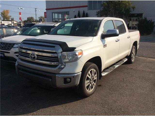 2017 Toyota Tundra Platinum 5.7L V8 (Stk: A9265) in Sarnia - Image 1 of 1