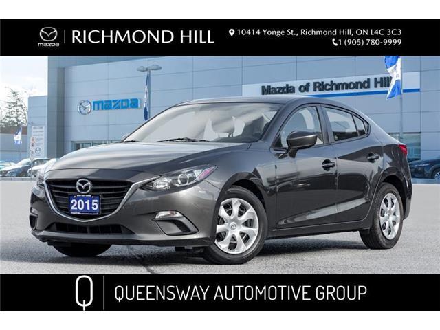 2015 Mazda Mazda3 GX (Stk: P0527) in Richmond Hill - Image 1 of 17