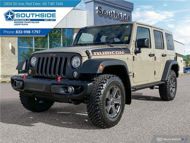 2018 Jeep Wrangler JK Unlimited Rubicon (Stk: WR2077A) in Red Deer - Image 1 of 25