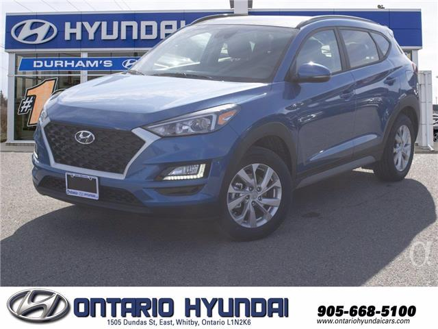 2021 Hyundai Tucson Preferred w/Sun & Leather Package (Stk: 334068) in Whitby - Image 1 of 18
