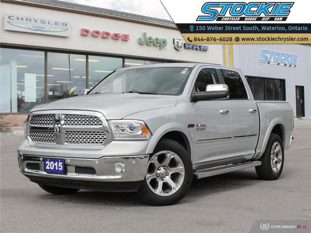 2015 RAM 1500 Laramie (Stk: 34061) in Waterloo - Image 1 of 27