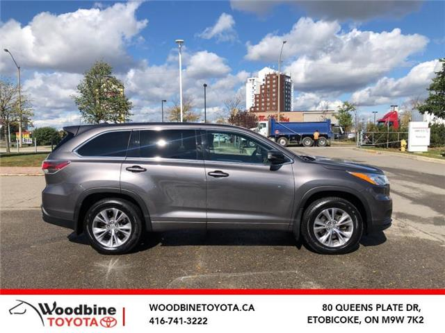 2015 Toyota Highlander LE (Stk: 20-959A) in Etobicoke - Image 1 of 13