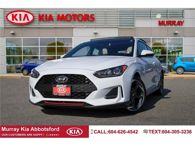 2020 Hyundai Veloster Turbo w/Sandstorm Leather (Stk: M1712) in Abbotsford - Image 1 of 20