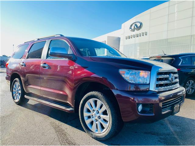 2011 Toyota Sequoia Platinum 5.7L V8 (Stk: H9171A) in Thornhill - Image 1 of 4