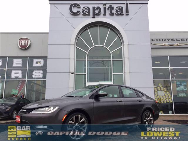 2016 Chrysler 200 S (Stk: L00523A) in Kanata - Image 1 of 24