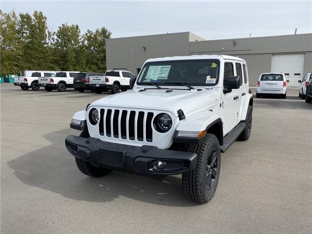 2021 Jeep Wrangler Unlimited Sahara (Stk: N04791) in Chatham - Image 1 of 15