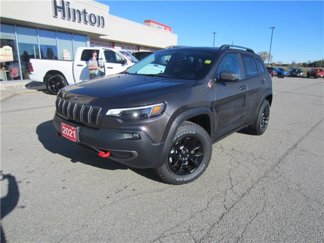 2021 Jeep Cherokee Trailhawk (Stk: 21005) in Perth - Image 1 of 17