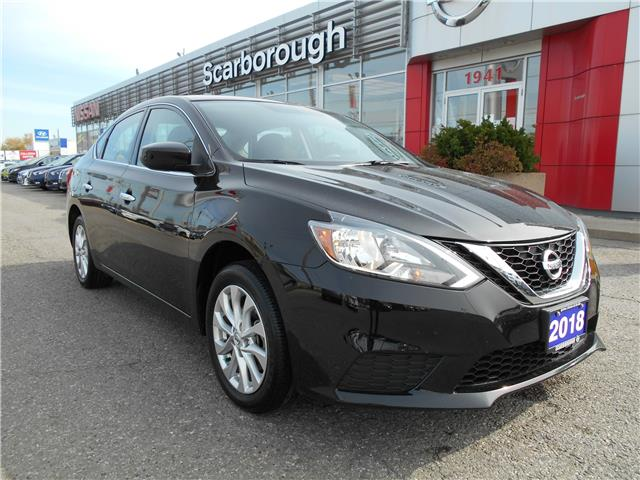 2018 Nissan Sentra 1.8 SV (Stk: L20032A) in Scarborough - Image 1 of 29