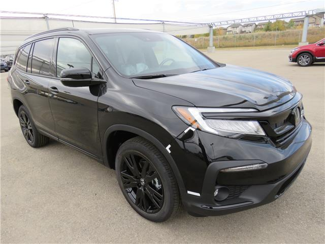 2021 Honda Pilot Black Edition (Stk: 210025) in Airdrie - Image 1 of 8