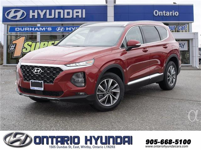 2020 Hyundai Santa Fe Preferred 2.4 w/Sun & Leather Package (Stk: 253820) in Whitby - Image 1 of 20