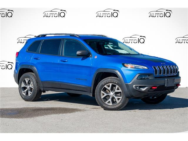 2018 Jeep Cherokee Trailhawk (Stk: 27772U) in Barrie - Image 1 of 30