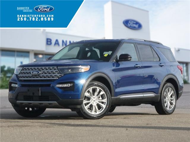 2021 Ford Explorer Limited (Stk: S202345) in Dawson Creek - Image 1 of 18