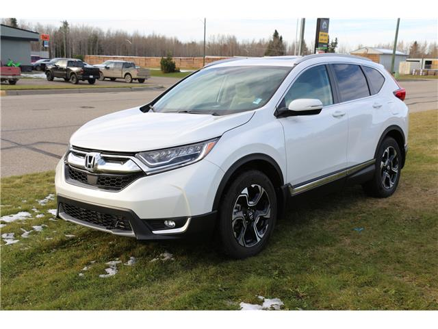 2019 Honda CR-V Touring (Stk: LP099) in Rocky Mountain House - Image 1 of 28