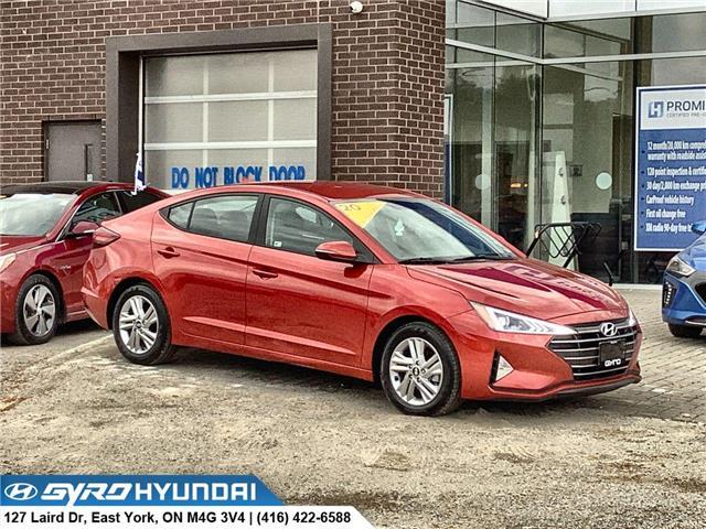 2020 Hyundai Elantra Preferred (Stk: H6094) in Toronto - Image 1 of 28