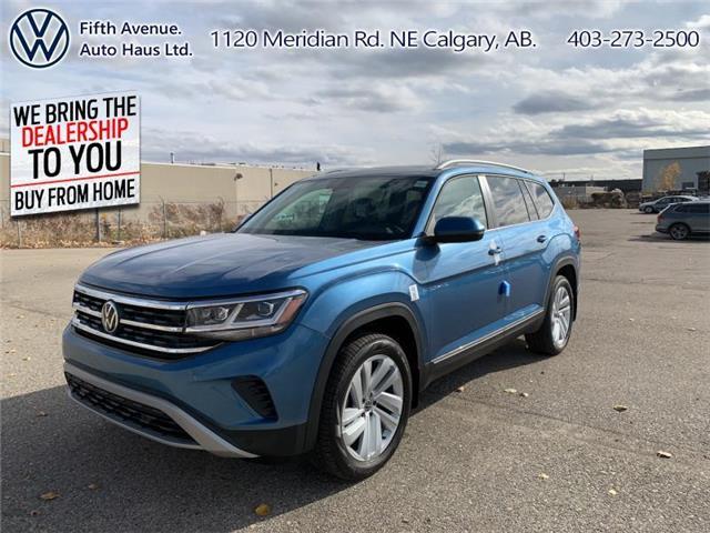 2021 Volkswagen Atlas 3.6 FSI Highline (Stk: 21030) in Calgary - Image 1 of 30