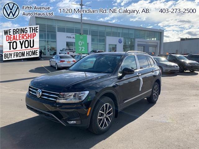 2020 Volkswagen Tiguan Comfortline (Stk: 20193) in Calgary - Image 1 of 28