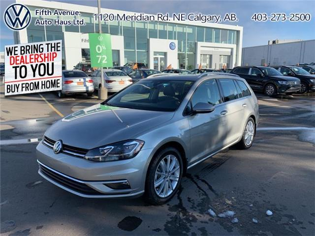 2019 Volkswagen Golf SportWagen 1.8 TSI Execline (Stk: 3516A) in Calgary - Image 1 of 27
