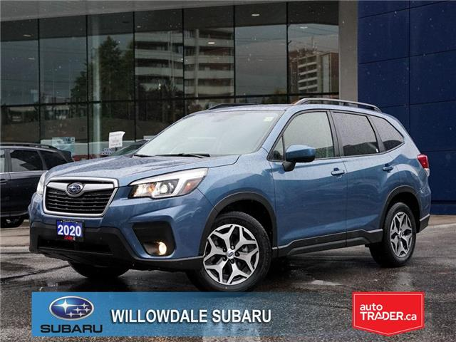 2020 Subaru Forester 2.5i Convenience CVT >>No accident + Eyesight<< (Stk: 20D10) in Toronto - Image 1 of 24