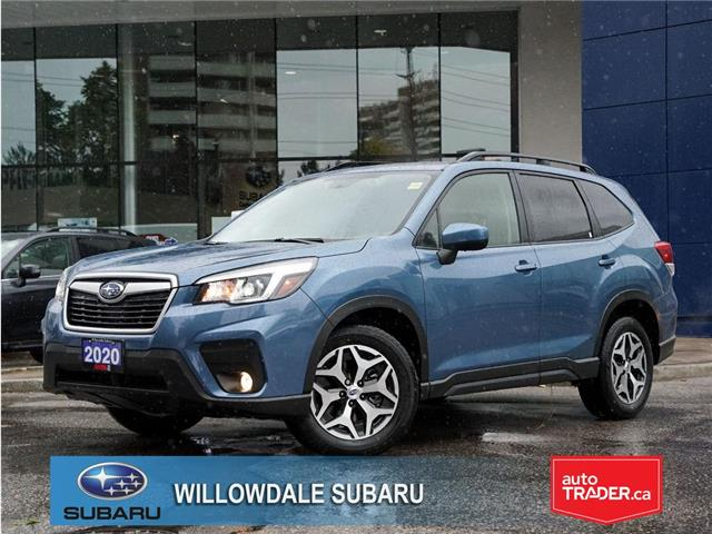 2020 Subaru Forester 2.5i Convenience CVT >>No accident + Eyesight<< (Stk: 20D19) in Toronto - Image 1 of 25