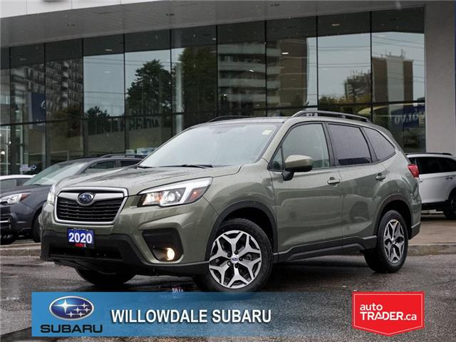 2020 Subaru Forester 2.5i Convenience CVT >>No accident + Eyesight<< (Stk: 20D18) in Toronto - Image 1 of 21