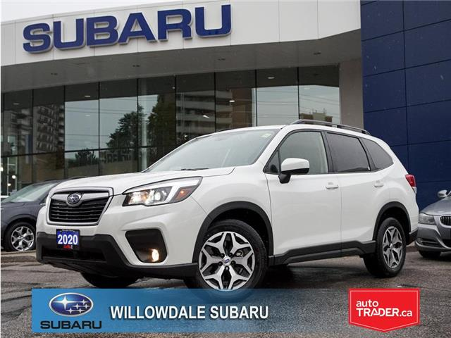 2020 Subaru Forester 2.5i Convenience CVT >>No accident + Eyesight<< (Stk: 20D16) in Toronto - Image 1 of 26