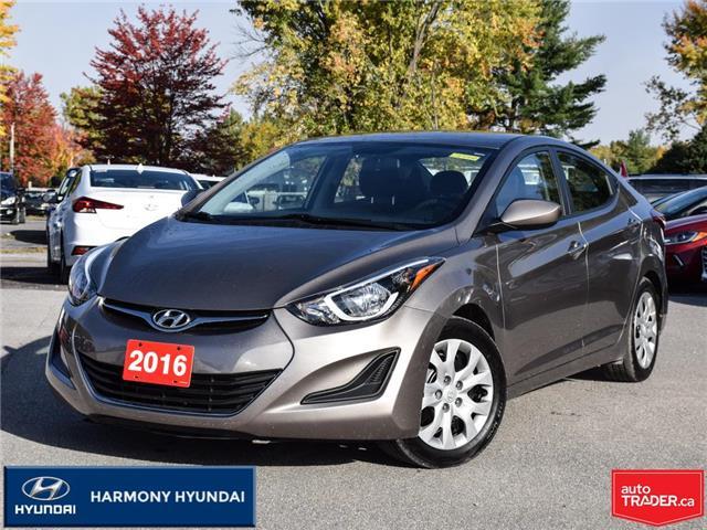 2016 Hyundai Elantra GL (Stk: 21014A) in Rockland - Image 1 of 26