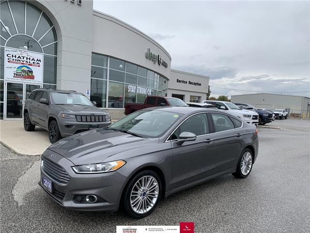2014 Ford Fusion SE (Stk: N04783A) in Chatham - Image 1 of 24