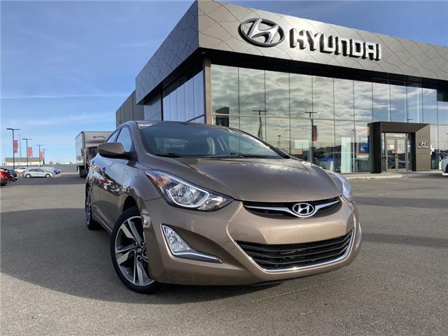 2015 Hyundai Elantra GLS KMHDH4AH6FU300127 40013A in Saskatoon