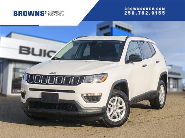 2018 Jeep Compass Sport (Stk: T21-1550A) in Dawson Creek - Image 1 of 15