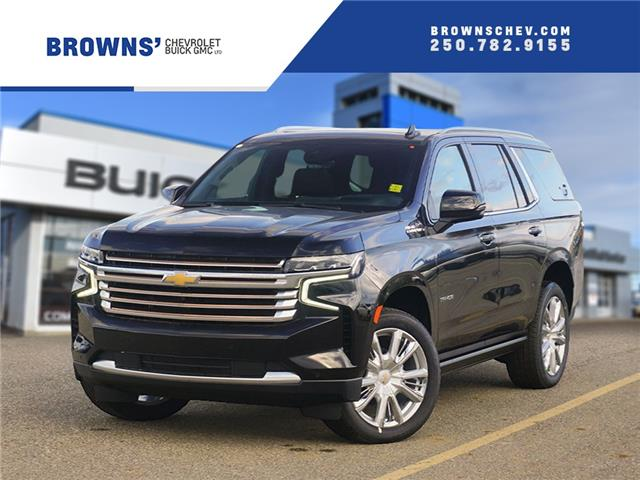 2021 Chevrolet Tahoe High Country (Stk: T21-1581) in Dawson Creek - Image 1 of 16