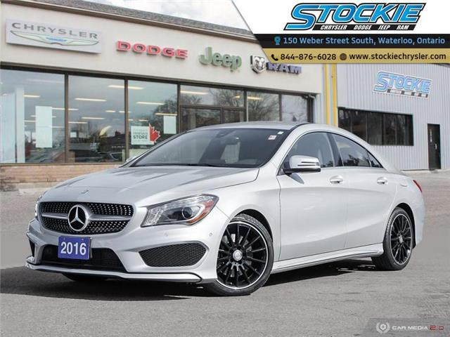 2016 Mercedes-Benz CLA-Class Base (Stk: 32338) in Waterloo - Image 1 of 27