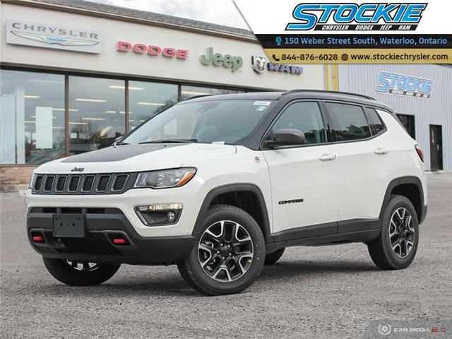 2021 Jeep Compass Trailhawk (Stk: 35122) in Waterloo - Image 1 of 27