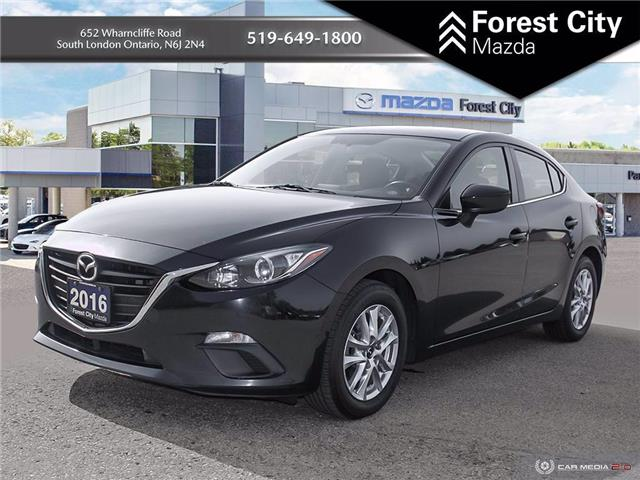 2016 Mazda Mazda3 GS (Stk: MW0154) in Sudbury - Image 1 of 14
