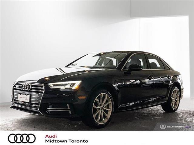 2018 Audi A4 2.0T Progressiv (Stk: P8375) in Toronto - Image 1 of 22