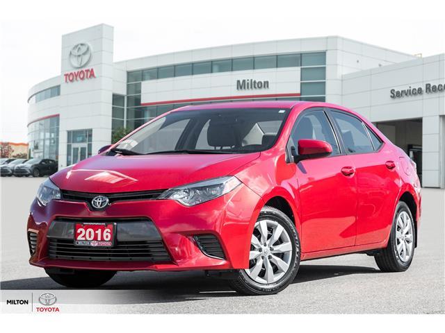 2016 Toyota Corolla LE (Stk: 575020) in Milton - Image 1 of 20