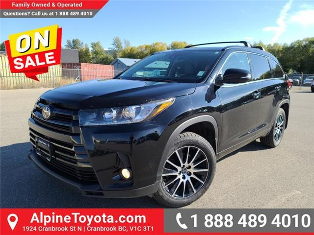 2017 Toyota Highlander XLE AWD SE Package (Stk: S042055A) in Cranbrook - Image 1 of 25