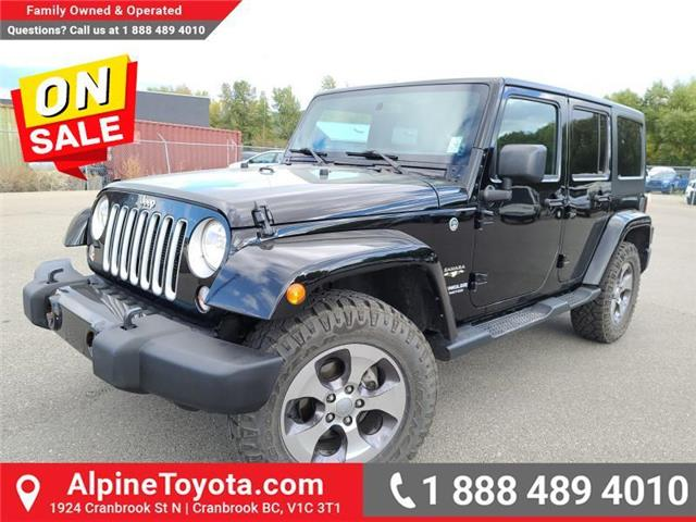 2016 Jeep Wrangler Unlimited Sahara (Stk: C065978A) in Cranbrook - Image 1 of 24