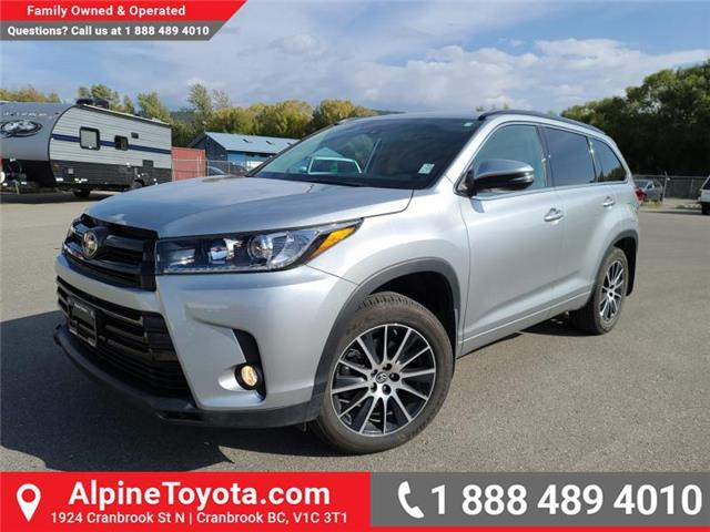 2018 Toyota Highlander XLE AWD SE Package (Stk: W099480A) in Cranbrook - Image 1 of 25