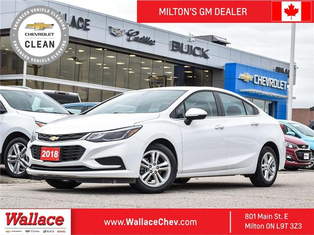 2018 Chevrolet Cruze LT | AUTO | HEATED SEATS | BACK UP CAM (Stk: PR5338) in Milton - Image 1 of 24