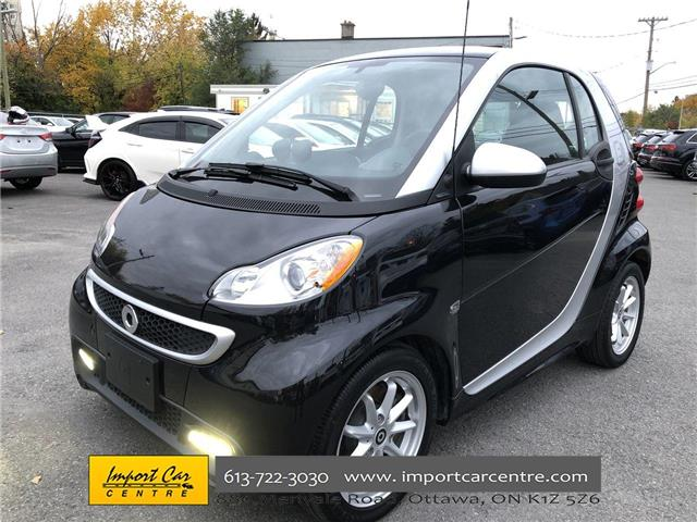 2016 Smart fortwo electric drive Passion (Stk: 842922) in Ottawa - Image 1 of 19