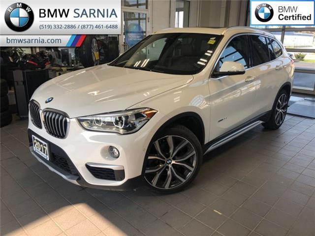 2017 BMW X1 xDrive28i (Stk: XU330) in Sarnia - Image 1 of 19