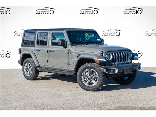 2021 Jeep Wrangler Unlimited Sahara (Stk: 34429) in Barrie - Image 1 of 26