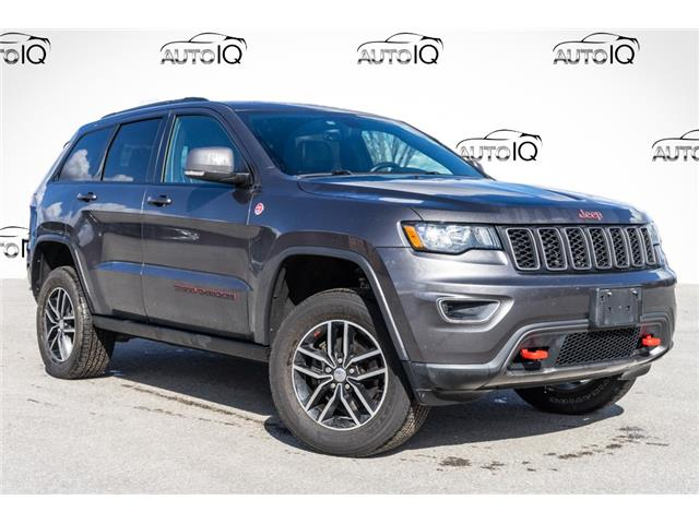 2017 Jeep Grand Cherokee Trailhawk (Stk: 34489AU) in Barrie - Image 1 of 29